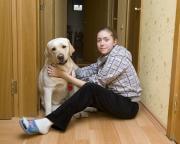 Полина и Маруся в гостях у Цезаря Милановского :)